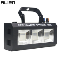 ALIEN 60W RGBW LED Strobe Light DJ Disco Stage Lighting Effect for Party Holiday Wedding Culb Flash Sound Activated With Remote