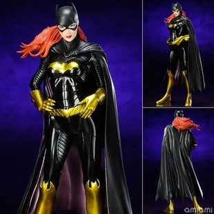 Anime DC Direct Batman Batgirl Batwoman Painted Figure Super Hero PVC Action figure ACGN Collectible Toys Brinquedos J03