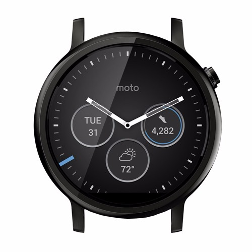 22mm Moto 360 2 46mm Black
