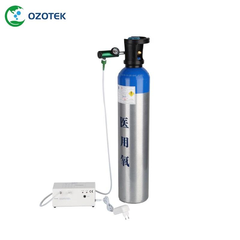 12VDC generador de ozono médico MOG004 utilizado en terapia de ozono 18-110ug/ml