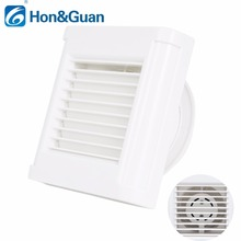 4inch Silent Kitchen Air Vent Ventilation Fans 110V 220V 14W Home Bathroom Ventilation Exhaust Fan Strong Power Wall Mounted