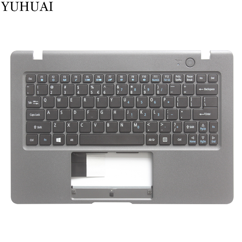 NEW US keyboard FOR Acer Aspire One Cloudbook AO1 131 1 131 1 131M Laptop Palmrest