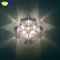 Современный настенный светильник Прозрачный Акриловый надеюсь настенный светильник Гостиная столовая лампы Крытый стены Освещение бра