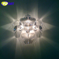 Modern Wall Lamp Clear Acrylic Hope Wall Light Living Room Dinning Room Lamp Indoor Wall Lighting Sconce
