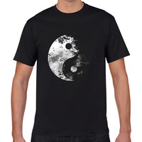 Cool Gossip Astronaut Galaxy Music Magnetic Tape Bird T Shirt Men S 3D Custom Short Sleeve