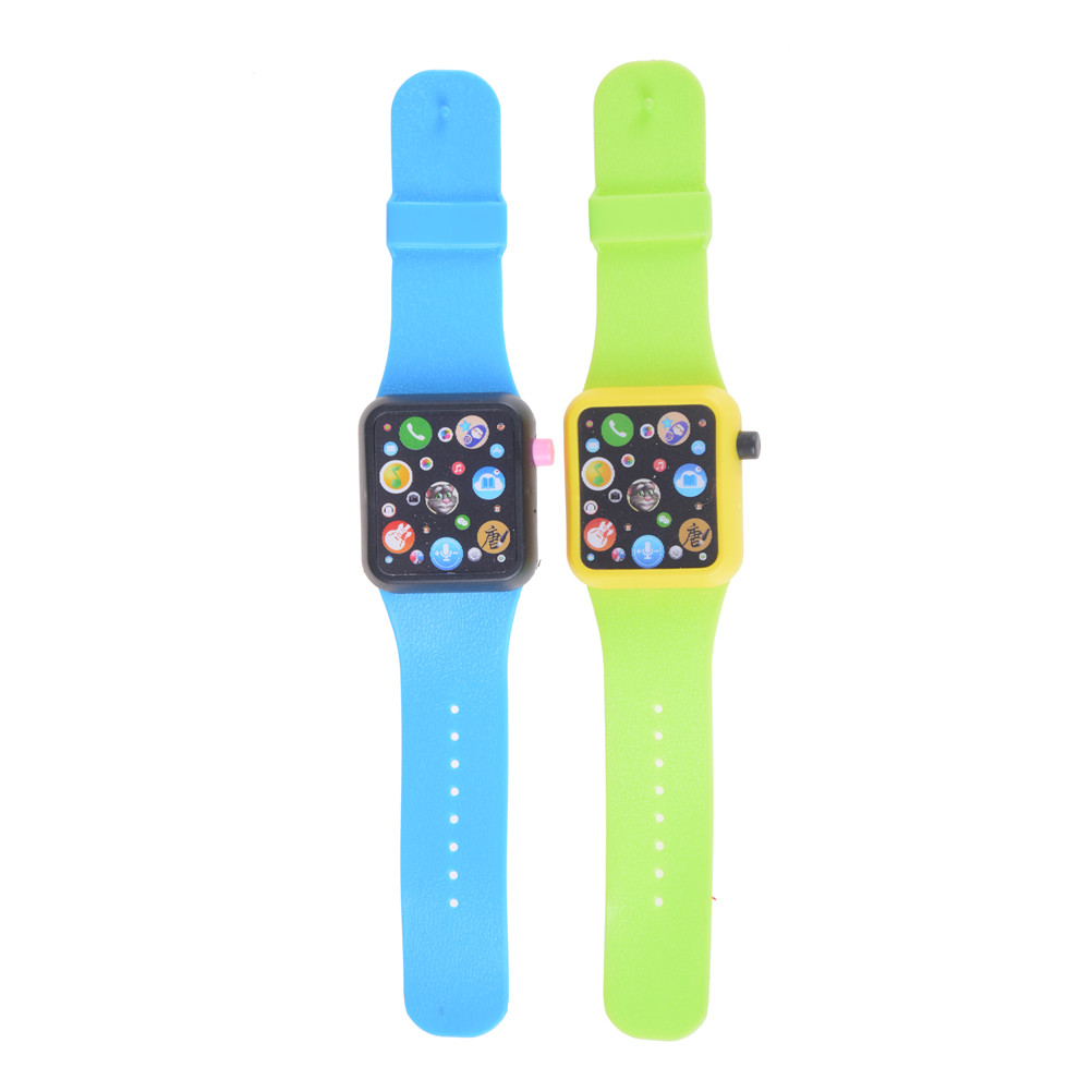 Early Education 3D Touch Screen Kids Children Smart Watch Music Smart Watch Learning Machine ABS Wristwatch Toy Aprender Ingles