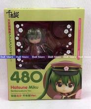 10 cm Vocaloid Idol Hatsune Miku Senbonzakura Version Mignon Nendoroid 480 # Action Figure collection modèle jouets