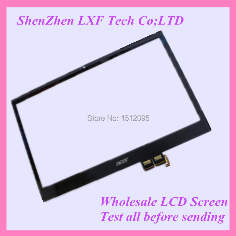15'' Laptop Touch digitizer glass For Acer Aspire V5-571 V5-571P V5-571PGB Touch panel new 15 6 foracer aspire v5 571 v5 571p v5 571pg touch screen digitizer glass replacement frame