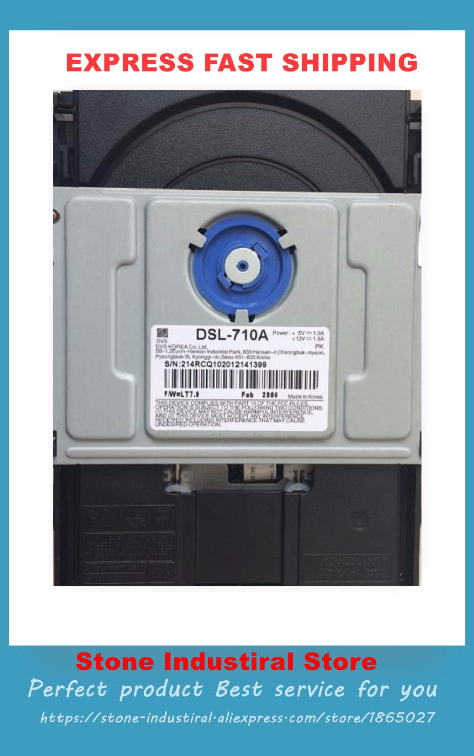 DSL-710A DSL710A New Original Rom boxed original dvs dsl 710a dsl710a dsl 710a dvd rom for primare cd21 cd31 cdi10