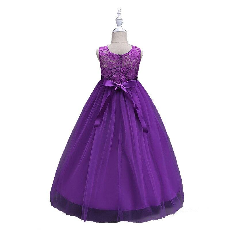 6 12yrs vestido de Niña de los niños de la dama de honor niños GIRS ...