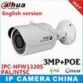 Английская версия IPC-HFW1320S 3MP Dahua p2p ИК-камеры 30 М IP66 Сеть IP Камеры заменить IPC-HFW4300S cctv камера