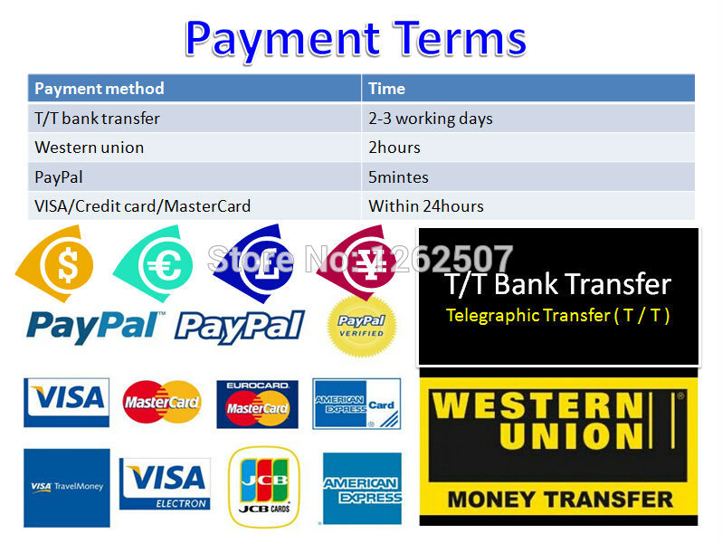 Payment terms