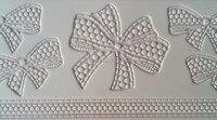 Wholesale 10pcs Lot Lace CT 5004 Bow Shapes Rectangle 100 Food Grade Silicone Baking Mat Cake