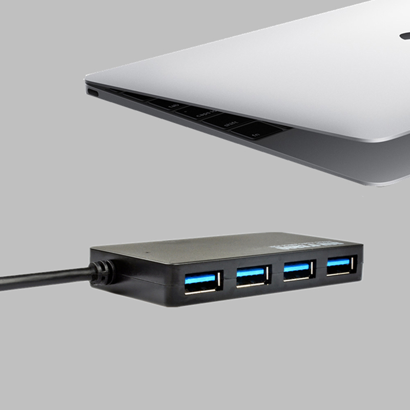 USB 3.1 Type C À USB 3.0 HUB Multiple 4 Port Adaptateur Pour Mac OS Windows 7 Linux