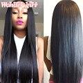 8A Mink Brazilian Virgin Hair Straight 4 Bundles Brazilian Straight Hair 100% Human Hair No Tangle Brazilian Hair Weave Bundles