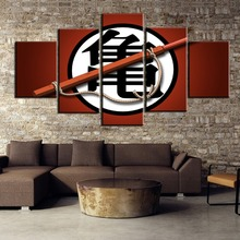 Painting Canvas Wall Art Picture Home Decoration Living Room DRAGON BALL animation Modern Decor