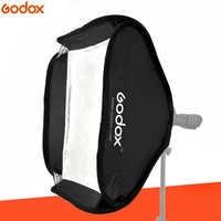 Godox 40*40 cm caja suave plegable Godox adecuado para Flash de cámara con soporte tipo S (40*40 cm Softbox)