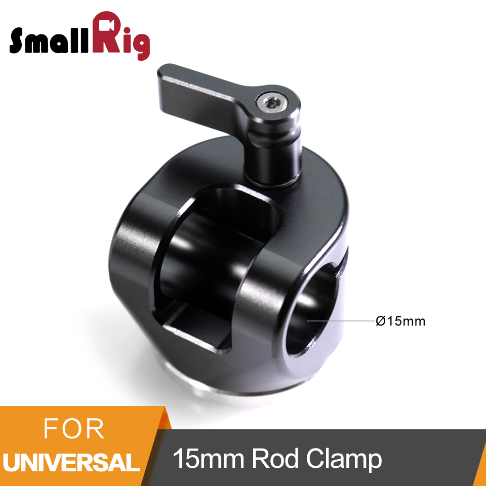 SmallRig 15mm Rod Clamp With Dogbone Arri Rosette Extension Arm for Sony FS7 Red Epic Cameras