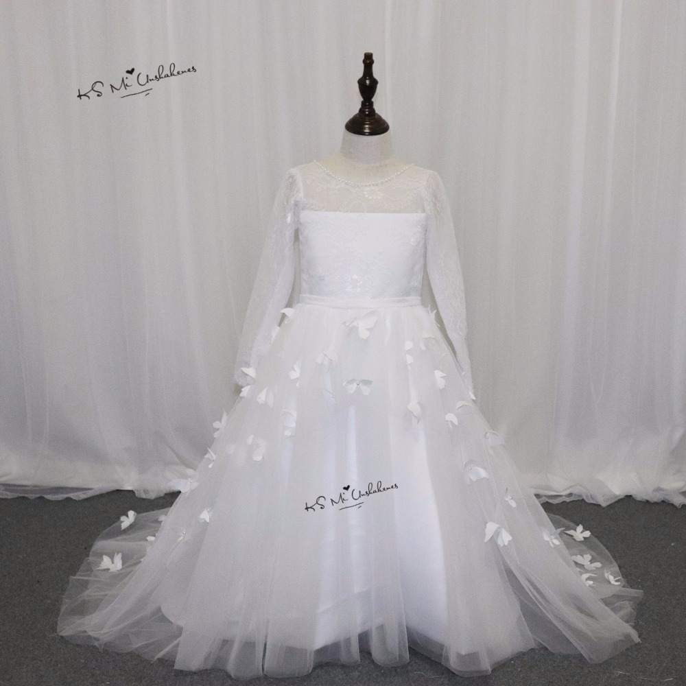 wedding flower girl dresses cheap cheap white communion dresses for lace flower 9503