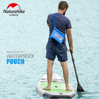 Naturehike Waterproof Shoulder Bags PVC Swimming Drifting Dry Sack Diving Underwater Storage Bags Kayaking Cell Phone