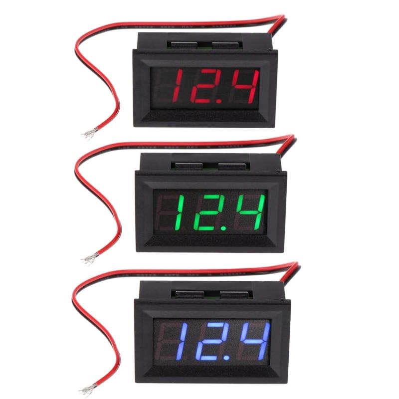 все цены на DC 4.5V-30V Digital Voltmeter 0.56