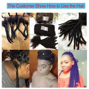 Image 5 - Afro Kinky Bulk Human Hair 3 4 Bundles Remy Mongolian Afro Kinky Bulk 50 Gram/Pc Kinky Curly Hair Crochet For Braiding Styleicon