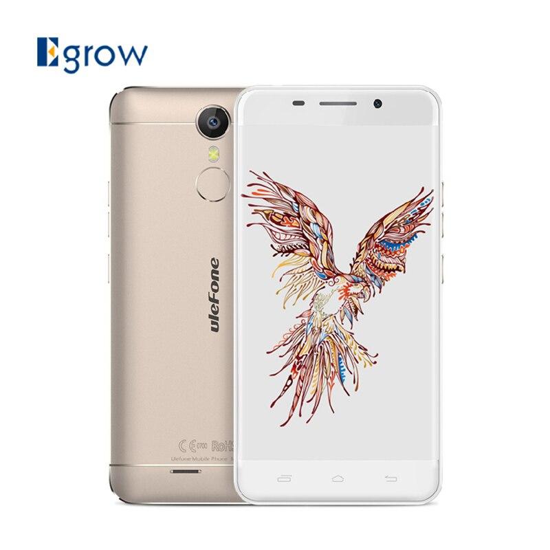 Цена за Оригинал Ulefone Меtal MTK6753 Окта основные Сотовый Телефон Android 6.0 5.0 Дюймов Мобильный Телефон 3 Г RAM 16 Г ROM 13.0MP 3050 мАч смартфон