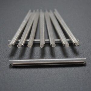 Image 3 - 100 pièces OD2.4 45mm fibre optique Fusion épissure Protection manches, fibre câble protecteur thermorétractable Tube Transparent