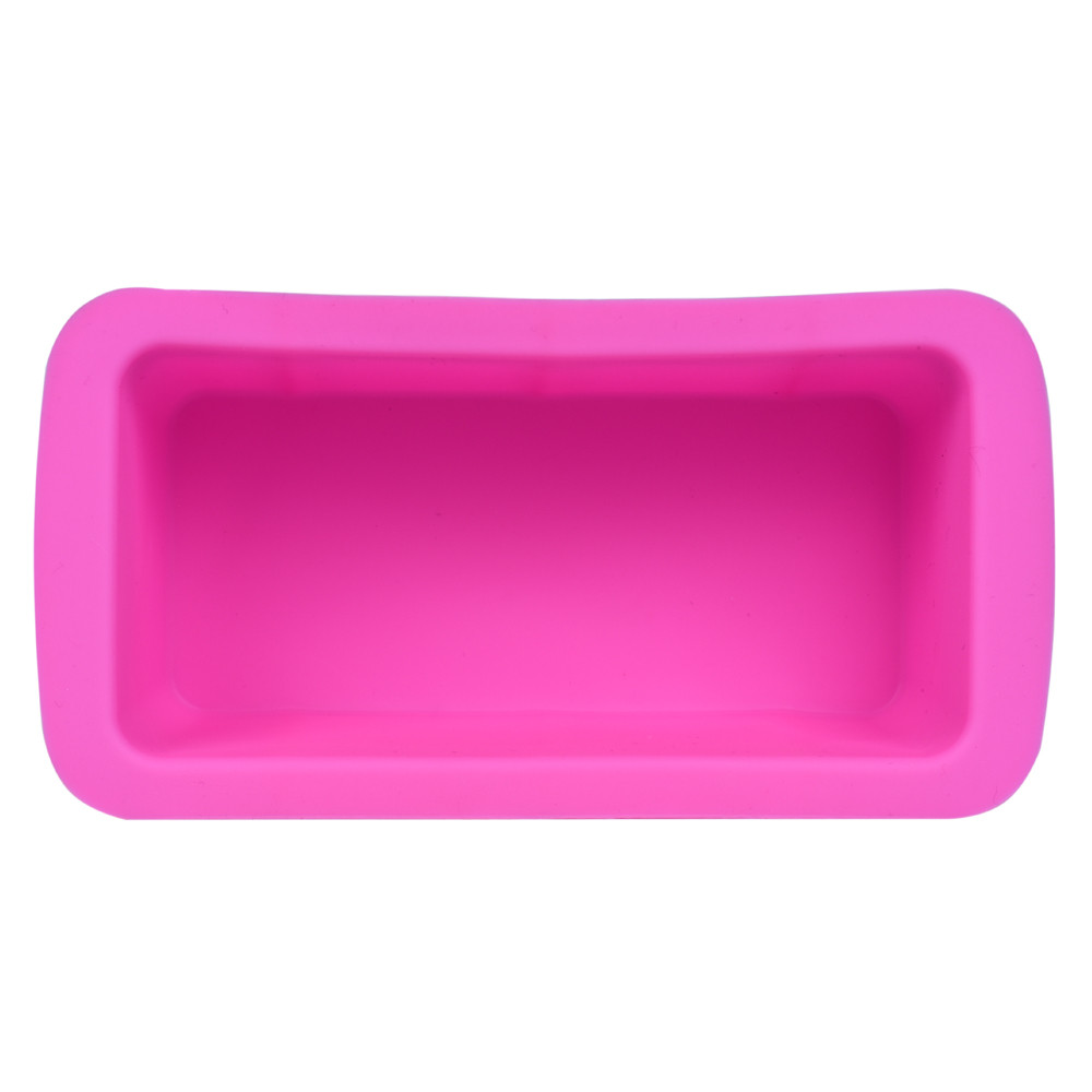Multi-functional Mini Food Grade Silicone Bread Loaf Cake Mold Non Stick Bakeware Baking Pan Oven Rectangle Mould Wholesale(China)