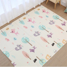 Waterproof XPE Folding Crawling Pad Children's Cartoon Toy Game Pad Flavorless Baby Crawling Baby Toys Play Mats crawling the website deeply deep page crawling