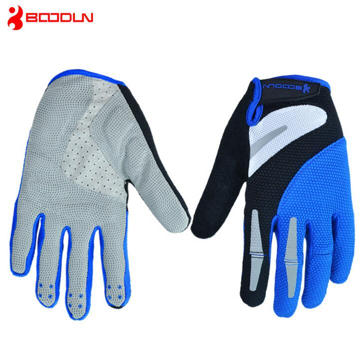 Boodun Winter Full Finger Cycling font b Gloves b font Men Bicycle Sports font b Gloves