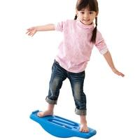 Plastic balance plate sense training equipment kindergarten balance beam indoor children seesaw baby toy