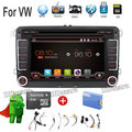 Quad Core 7inch Android 6.0 Car DVD GPS Player 3G WIFI BT Radio for VW Jetta Passat free canbus