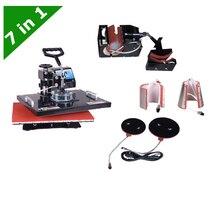 30 38CM T shirt Mug Plate Hat 7 1 Combo Heat Press machine LY 037 free
