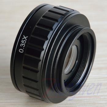 FYSCOPE Original authentic 0.35X Focus adjustable microscope C mount adapter for New type Trinocular Stereo microscope