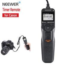 Neewer Спуска затвора Таймер Пульт Дистанционного Управления Шнур Для Canon EOS 550D 600D 1100D 1000D 650D 700D 1D 5D Mark II 50D Бесплатная доставка