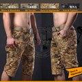 Natural Highlander Camo combate Trainning Shorts ripstop calças Curtas movimento de Areia Camo