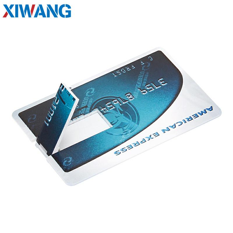 pendrive Bank Credit Card u disk new Waterproof Memory Stick drive 4GB 8GB 16GB 32GB 64GB 128GB USB Flash Drive free custom logo (5)
