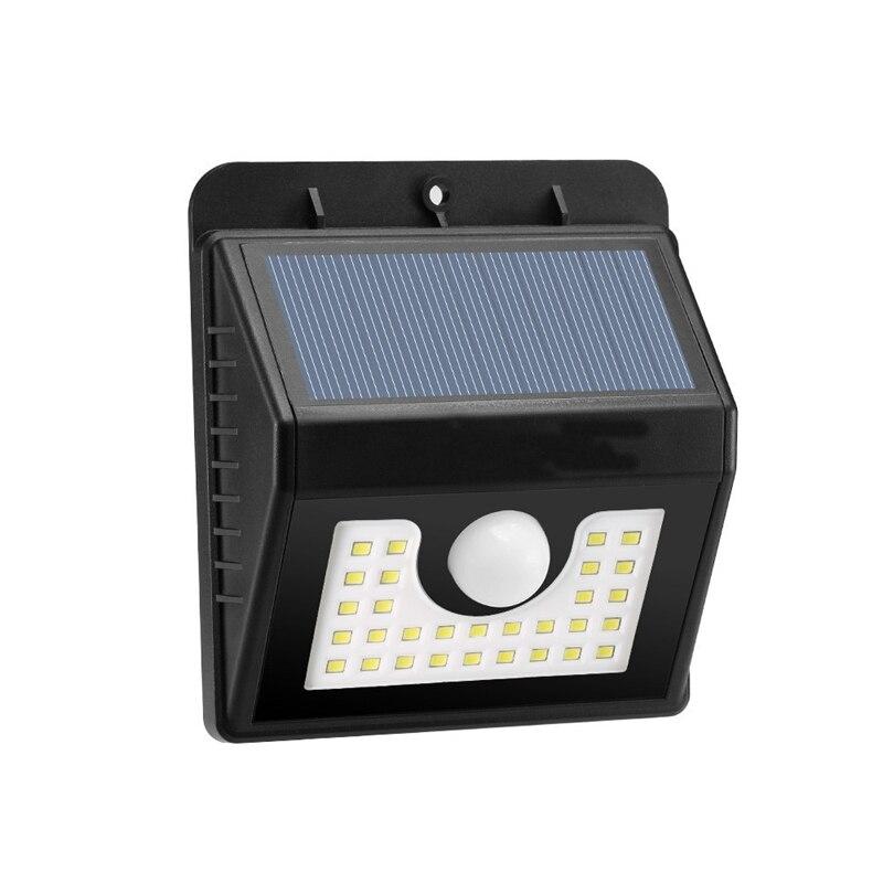 Mising 30 LED 200LM Solar PIR Human Body Motion Sensor Wall Light Outdoor Garden Light Lamp Waterproof IP65 2W