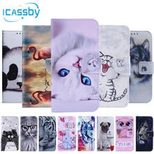 купить Flip Book Case For Coque Samsung Galaxy S9 Luxury Leather Wallet Phone Cover For Samsung Galaxy S8 S9 S10 Plus S7 Edge S10e Case дешево