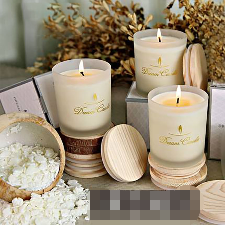 Aromatherapy Smokeless Decorative Candles Wedding Decoration Romantic Scented Birthday Candle Christmas Soy Wax Candele 30C0017