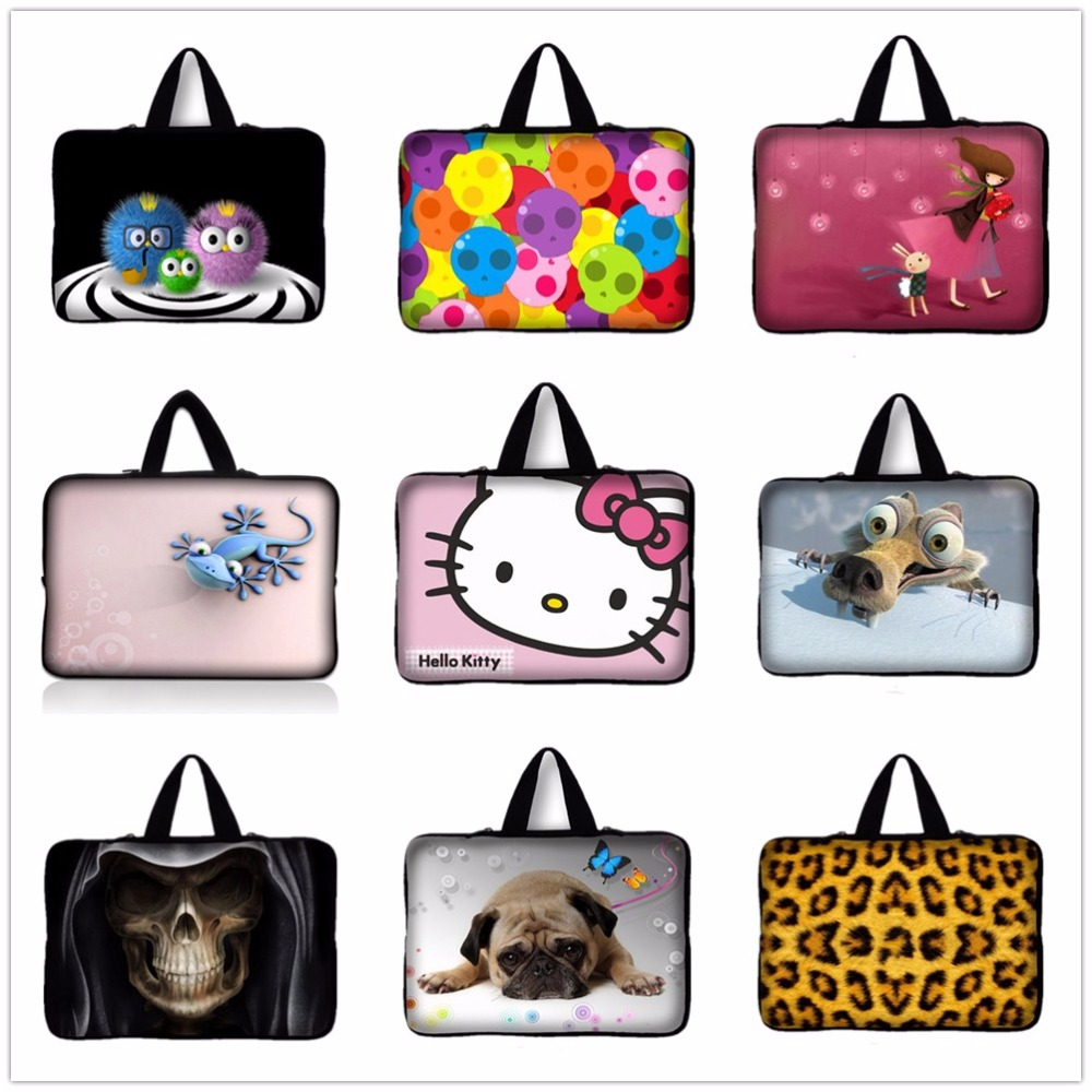 Cute Pug ,Gecko 14 14.4 Laptop Bag Notebook Smart Cover Case For Dell Vostro HP Asus Acer 14 14.1 14.4 inch Laptop Sleeve #4