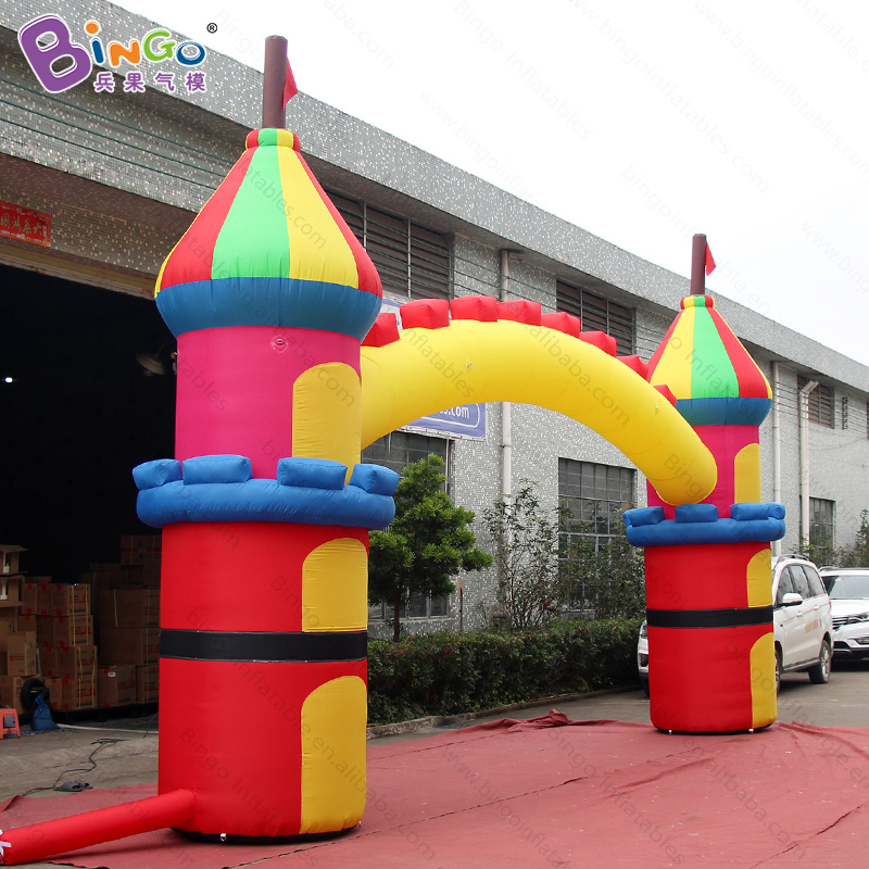 High quality celebrating festival inflatable advertising gate 26*15ft inflatable finish line arch cheap inflatable arch for sale r0163 free shipping cheap inflatable arch halloween inflatable arch inflatable welcome arch inflatable finish line arch for sale
