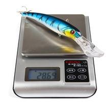 16cm 28.6g Fishing Lure big Bent Artificial Minnow Fake Bait Swim bait 3D Fish Eye Crankbait pesca carp fishing