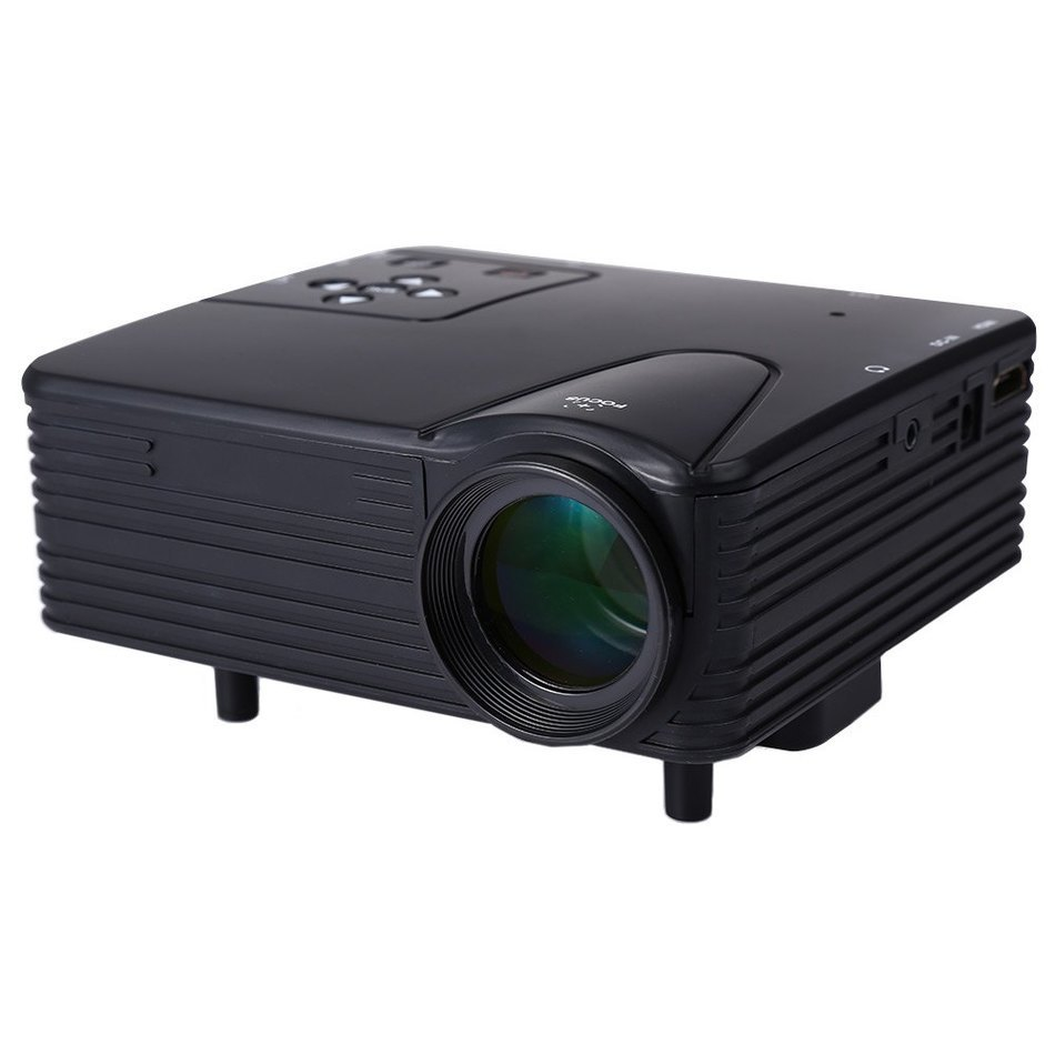 Genuine h80 portable mini led lcd hometheater game for Best small hd projector