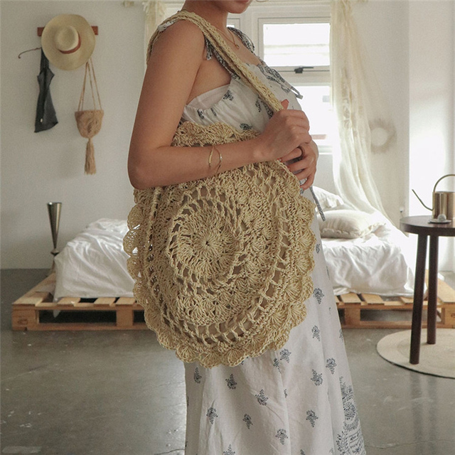 Sunflower Boho Foldable Bag