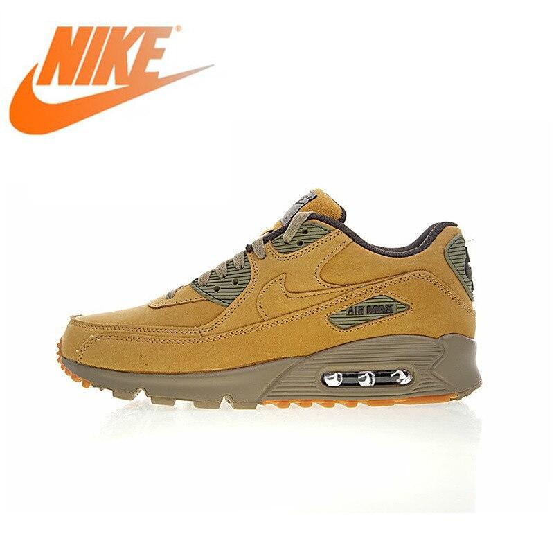 Nouveau véritable original Nike Air Max 90 senior hommes chaussures de course sport de plein Air chaussures de sport confortable respirant 683282-700
