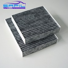 cabin filter for 2013 Citroen DS3 1.6L, FOR Peugeot 207CC (2007 -), FOR 2014 Peugeot 2008 1.6L (Pair) oem:6447.VX #ST349C