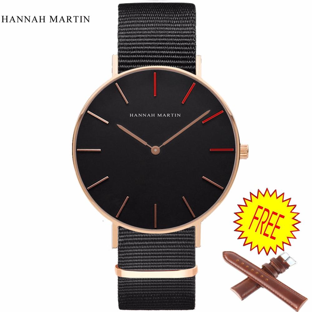 Mode DW Style horloge dames Heren lovers Horloge Topmerk Luxe Rose goud Dames Dames blazers Nylon band Relogio Feminino