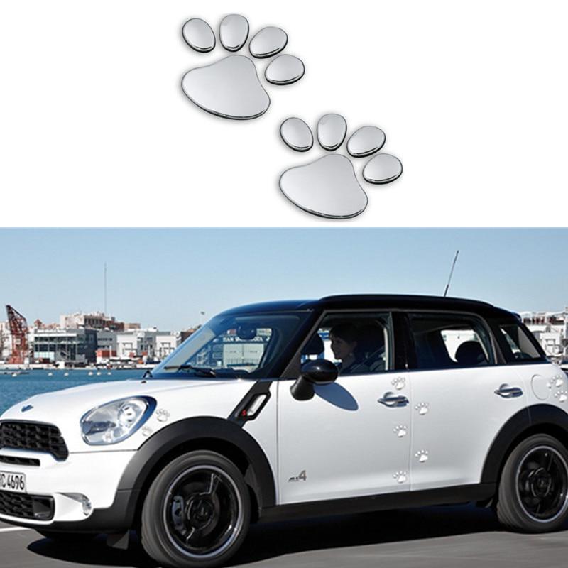 1 Paar Auto Aufkleber Pet Tier Pfote Fußabdrücke Auto Lkw Decor Für Lifan X60 Cebrium Solano Neue Celliya Smily Geely X7 Ec7 Kunden Zuerst